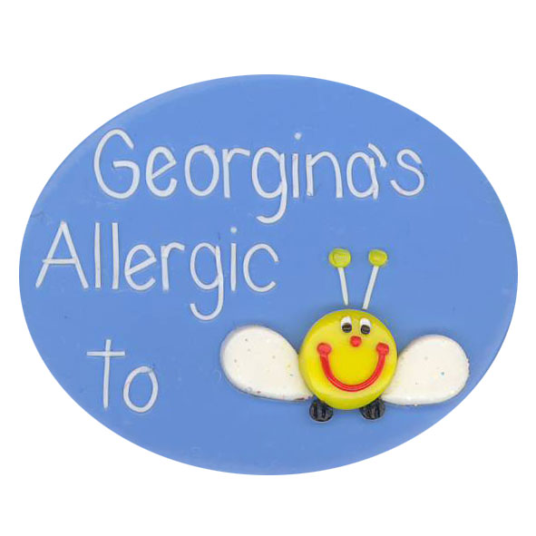 Bee Sting - Allergy Alert Badge