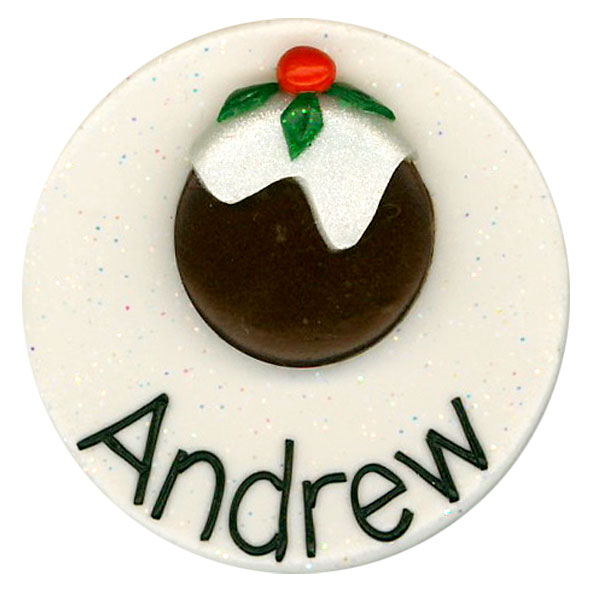 Christmas Pudding - Christmas Badge