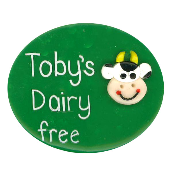 Dairy Free - Allergy Alert Badge