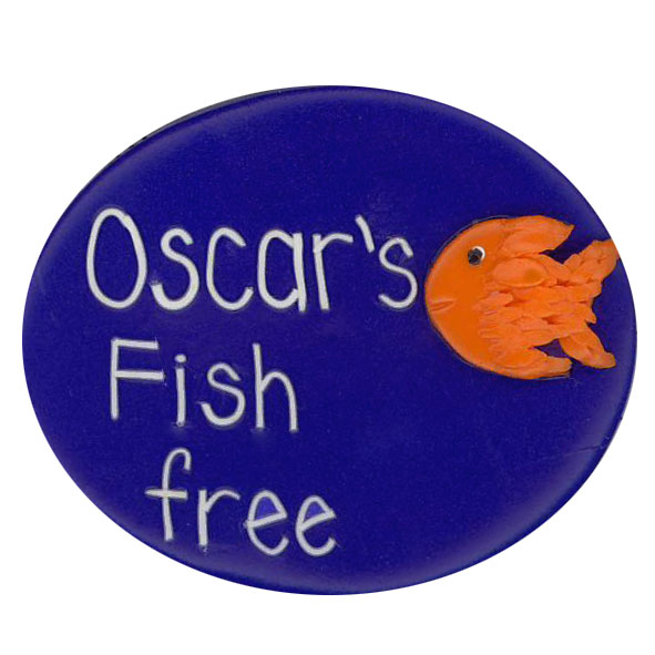 Fish Free - Allergy Alert Badge