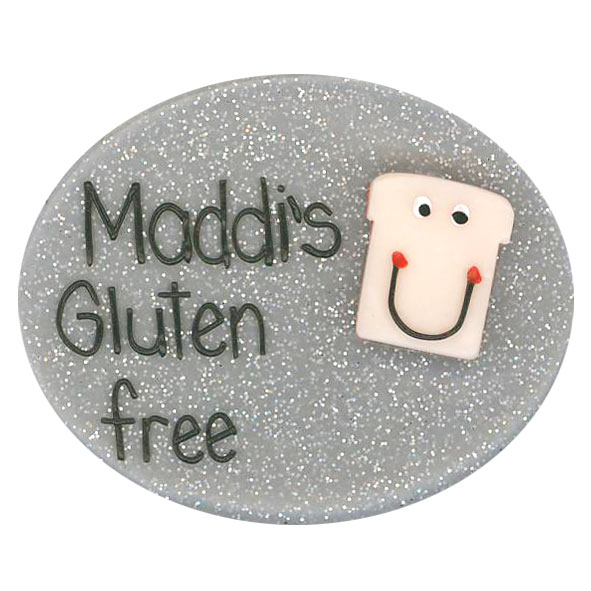 Gluten Free - Allergy Alert Badge