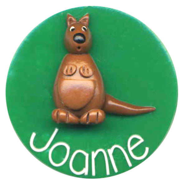 Kangaroo - Animal Badge