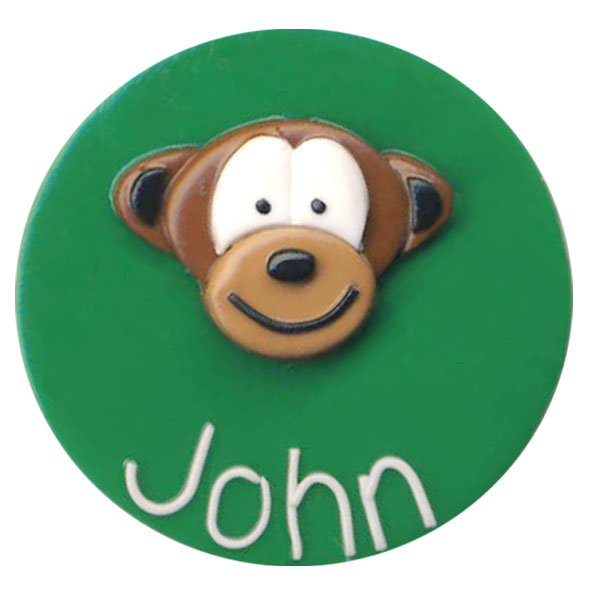 Monkey - Animal Badge