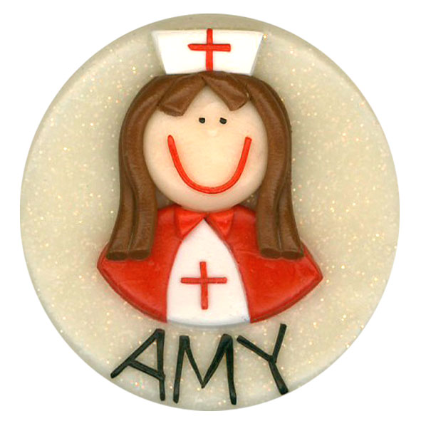 Nurse A - Red Cape - Medical Badge