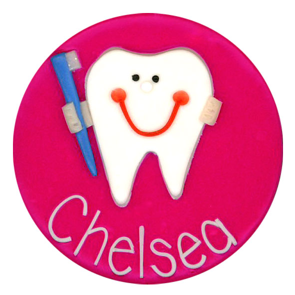 Smiley Tooth - Medical Badge