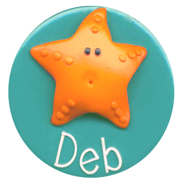 Starfish - Animal Badge