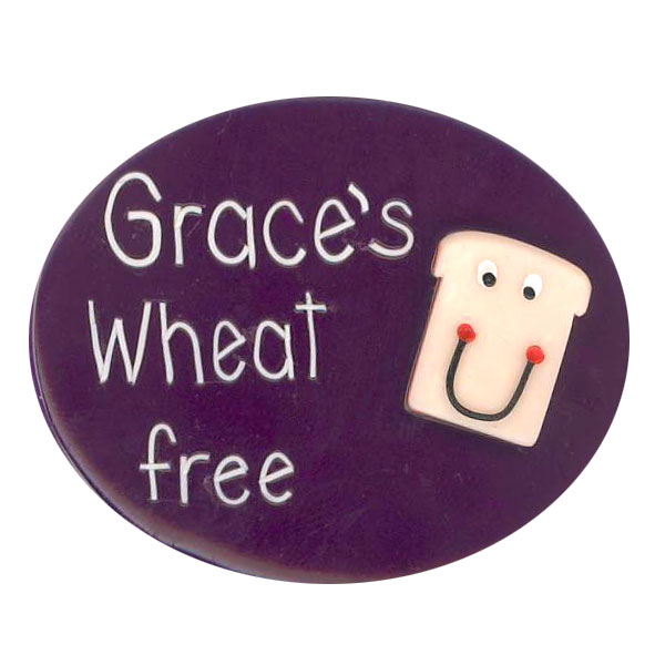 Wheat Free - Allergy Alert Badge